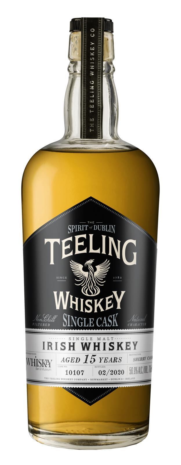Teeling 15 Single Cask + Paddy Hat